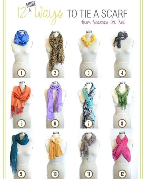 printable directions on how to tie a scarf pashminas how to tie a scarf scarf guide scarf