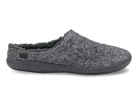 Berkeley Search Grey Slub Textile S Berkeley Slippers Toms 174