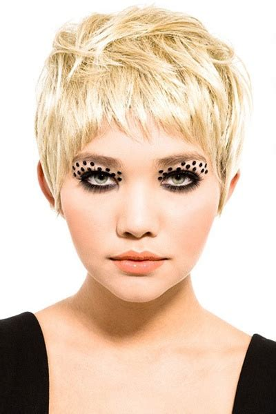 hot to cut pixie cut over the ear super hot blonde pixie cut short cuts pinterest a