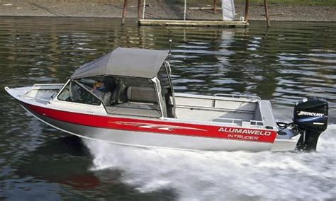 alumaweld boat tops research alumaweld boats intruder 18 outboard multi
