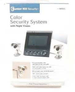 color vision security bunker hill security system vision 2 cameras color