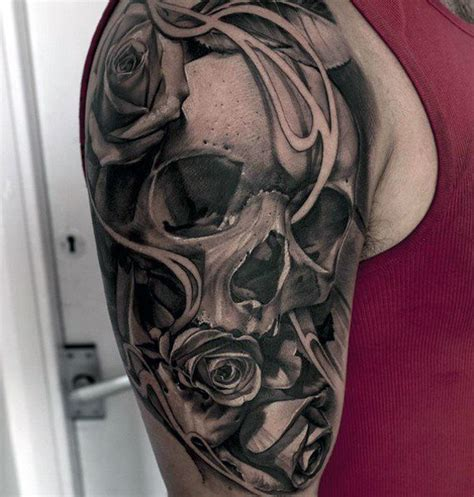 quarter sleeve rose tattoo 1000 ideas about quarter sleeve tattoos on pinterest