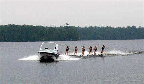 boat dock rope swing raquette lake girls c premier new york summer c