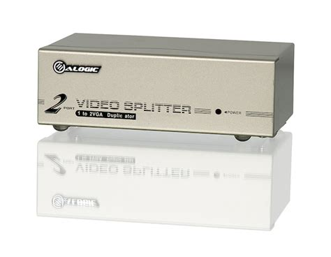 2 Port Vga Splitter 200mhz 1920x1440 alogic 2 port vga splitter 1920x1440 60hz max