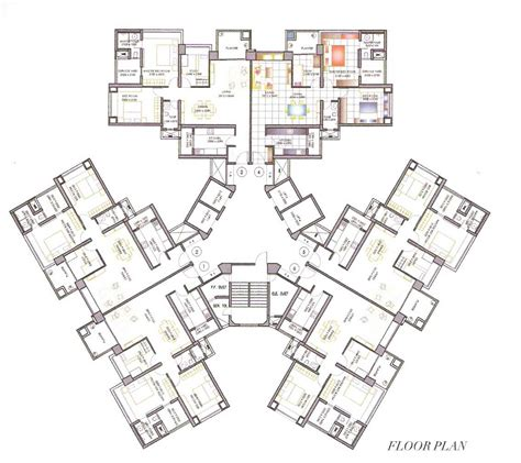 High Rise Floor Plans | high rise residential floor plan google search