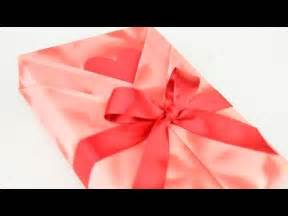 japanese gift wrap japanese gift wrapping kimono style with a heart shaped message card youtube
