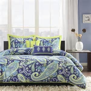 green paisley duvet cover bedroom 5 blue green paisley polyester