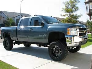 Blue Chevy Truck Black Wheels Pics Of A Blue Granite Metallic Truck With Black Rims
