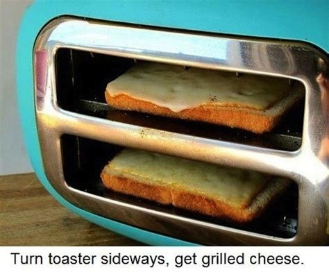 Grilled Cheese In The Toaster 40 Clever Life Hacks To Simplify Your World 171 Twistedsifter