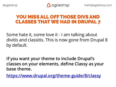 drupal themes definition drupal 8 most common beginner mistakes
