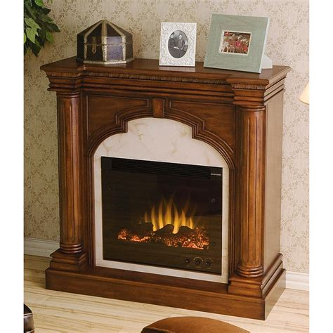 Brown Electric Fireplace by Ellington Electric Fireplace Brown Mahogany 170076