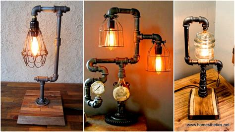 diy design 16 sculptural industrial diy pipe l design ideas able