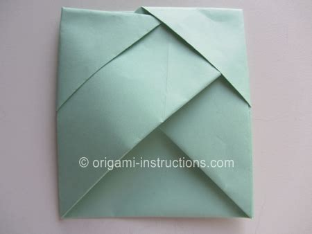 Origami Folder Pocket - origami bamboo letterfold folding