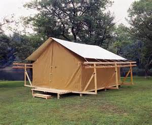 Permanent Tent Cabins by Tradition Creek Outfitters For The American Outdoors