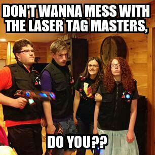 Lazer Tag Meme - my artwork venturiantale laser tag meme wattpad