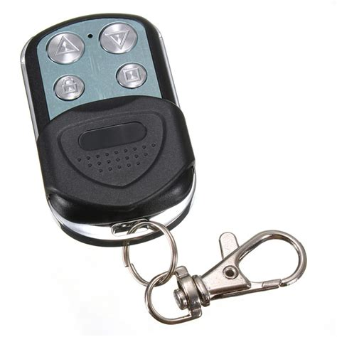 Garage Door Key Fob Remote by 4 Button Electric Garage Gate Door Remote Key Fob