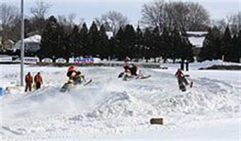plymouth snowmobile races snocross