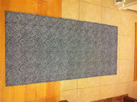 Diy Area Rug From Fabric 13 Best Images About My Craft Projects On Pinterest Green Spray Paint Lima And Seat Cushions