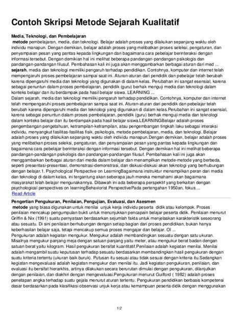 tesis kualitatif adalah proposal tesis teknologi pendidikan kualitatif