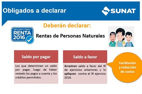 impuesto primera categoria upcoming 2015 2016 sunat solo est 225 n obligadas a declarar las personas que