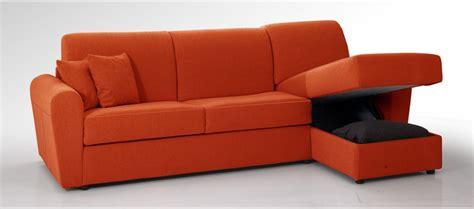 divani contenitori giove divano letto 3 posti con penisola contenitore