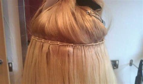 hair extensions method your wedding hair hair extensions la weave