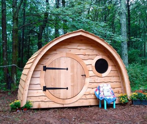 hobbit playhouse brings middle earth smials into your