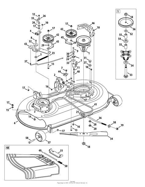 craftsman lt2000 deck diagram mtd 13al78ss299 247 289190 2010 lt2000 13al78ss299