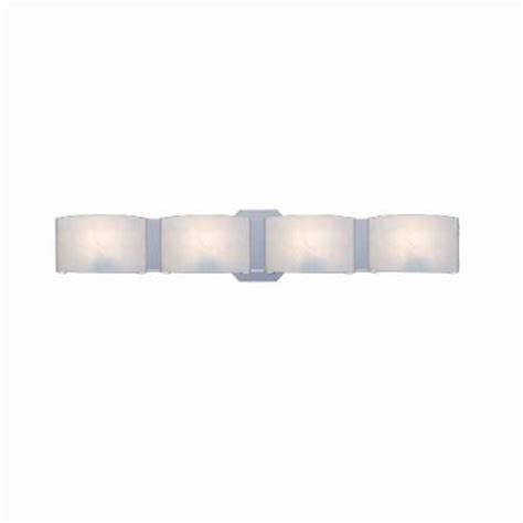 hton bay dakota 4 light satin nickel bath bar light br