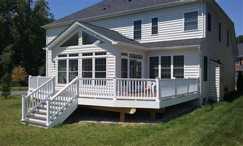 Sunroom On A Deck by Porch Patio Of Frederick Deck Builder In Frederick Md