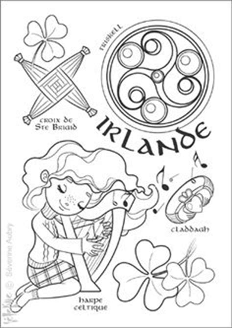 irish santa coloring page loch ness monster colouring page scotland england trip