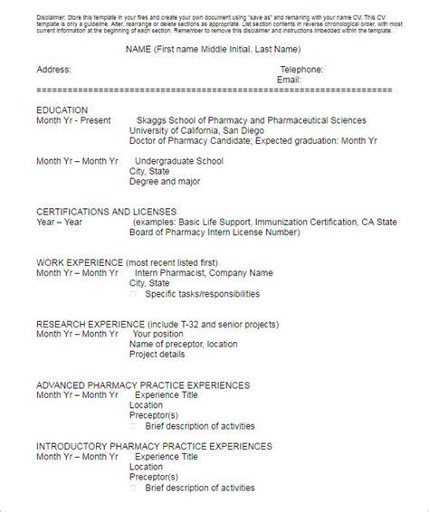 resume template anticipated graduation