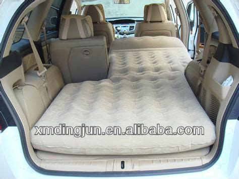 car blow up bed inflatable car air bed mattress inflatable truck air