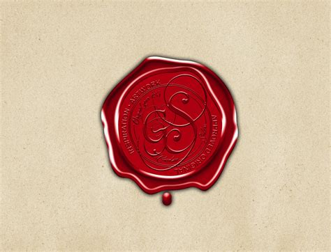 Wax Seal Candle antique wax seal graphics creative market