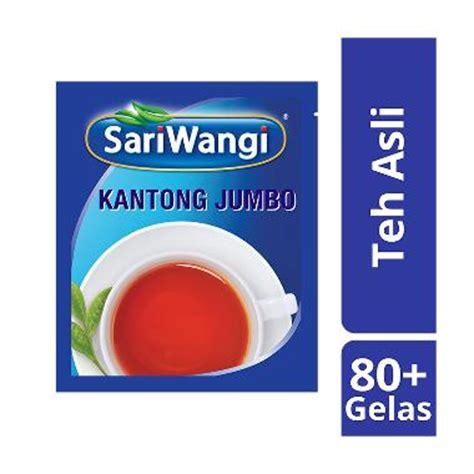 Teh Celup Sariwangi Isi 50 jual sariwangi teh celup jumbo asli 4 20 g 4 pcs 62009170 harga kualitas terjamin