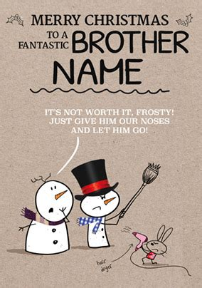 brother christmas cards festival collections