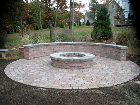 small firepit pit areas small patio pit patio with pit