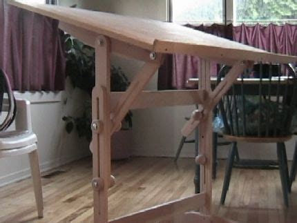 how to make a drafting table best 25 portable drafting table ideas on