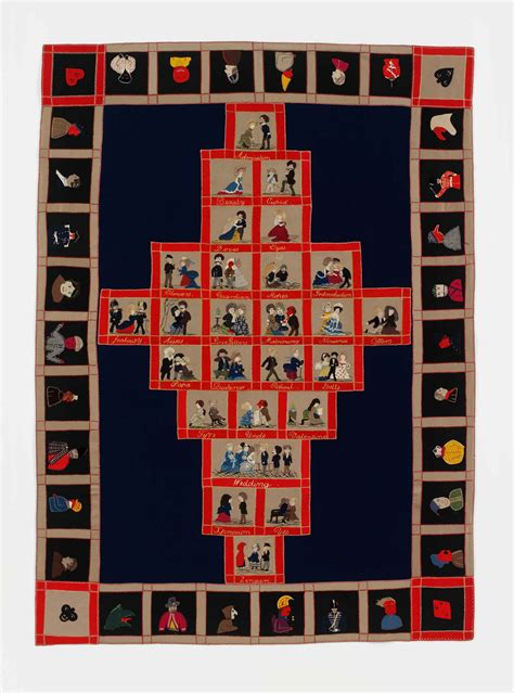 Leter Quilt Museum by Historic Quilts From The V A In Brisbane