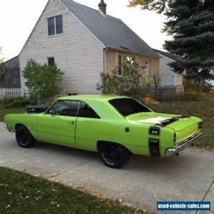 Dodge Cars For Sale 1969 Dodge Dart For Sale In Canada