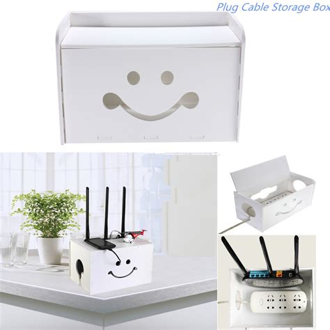 diy power strip box diy socket outlet board container cables storage organizer