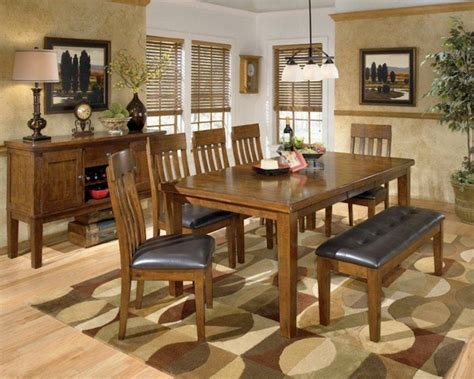 ashley furniture dining room table ashley ralene dining room collection contemporary