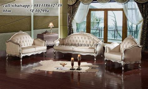 Sofa Angin Di Ace Hardware set kursi sofa tamu mewah klasik turkey ksi 22 furniture idaman furniture idaman