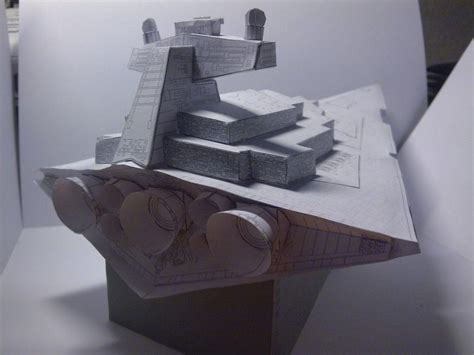 Destroyer Papercraft - imperial destroyer sf papercraft