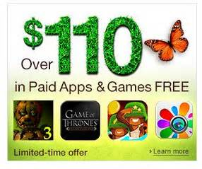 Amazon Daily App Giveaway - amazon giving away 110 in paid apps games the ebook