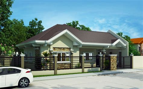 pinoy bungalow house design pinoy house plans series 2015014 is a 4 bedroom bungalow house which can be built in