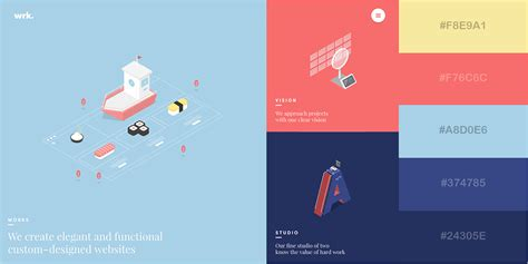 website color schemes 2016 50 gorgeous color schemes from stunning websites visual learning center by visme