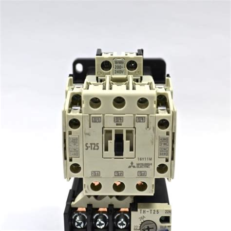 mitsubishi contactor s t25 3a2a2b coil 200v 240v relay th t25 18 26a ebay