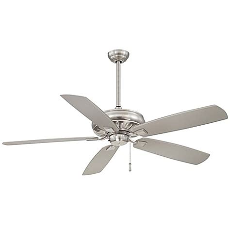 60 inch brushed nickel ceiling fan buy minka aire 174 sunseeker 60 inch indoor outdoor ceiling