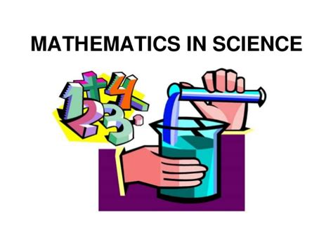 In Mat H by Mathematics In Science